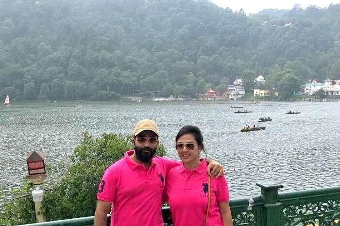 In Nainital besides Naini Lake