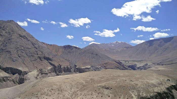 rugged mountains in ladakh