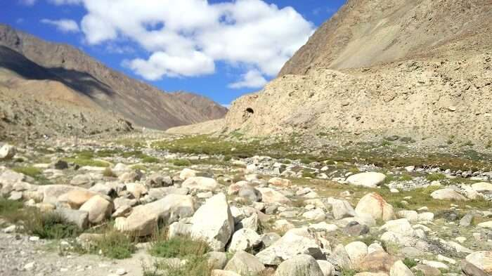 terrain in Ladakh