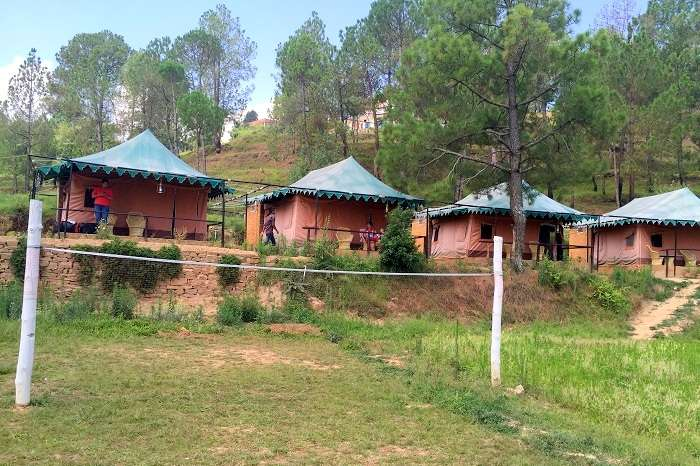camps in ranikhet