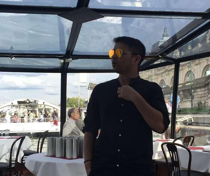 cruise ride in paris