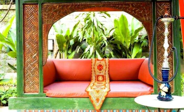 Indus restaurant lounge
