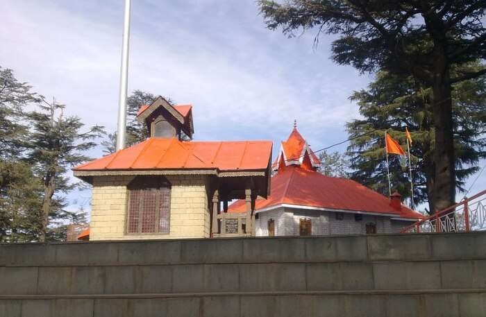 View Of Jakhu Temple