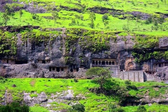 explore the Buddhist Junnar caves in bhimashankar