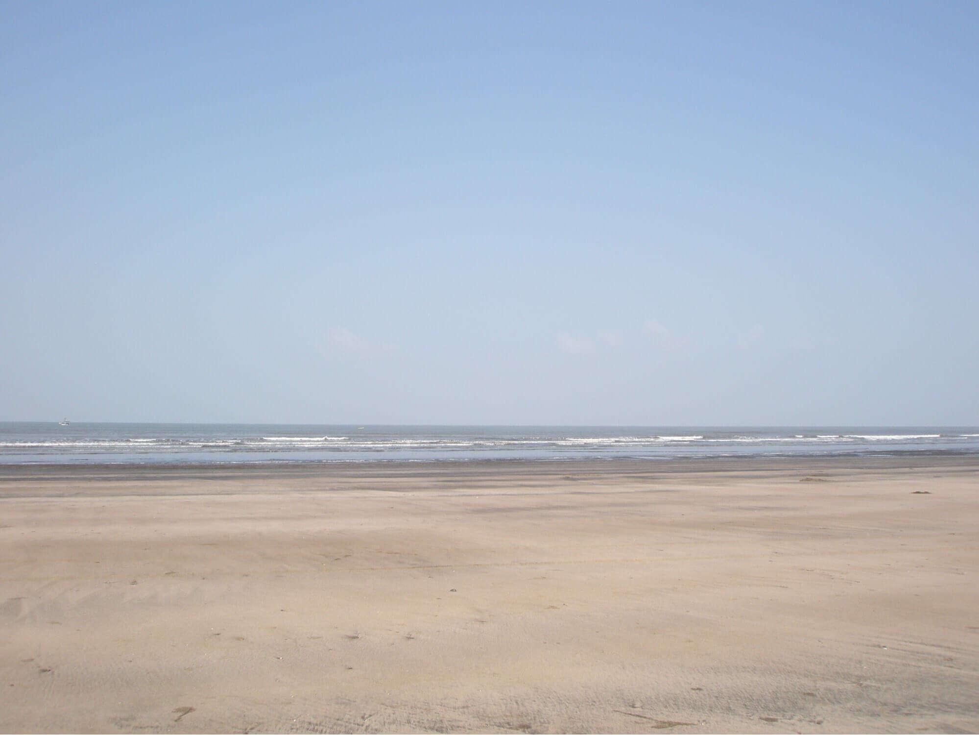 a calm beach