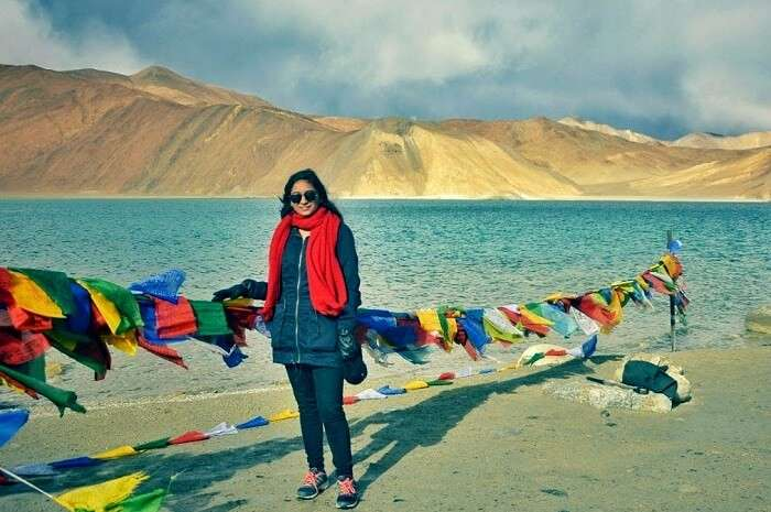 photography on pangong lake