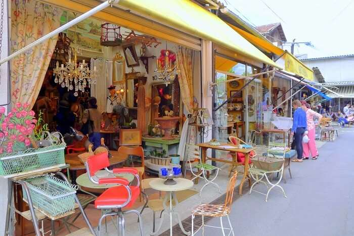shop till you drop at Paris's flea markets