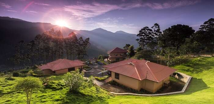 best cottages in munnar
