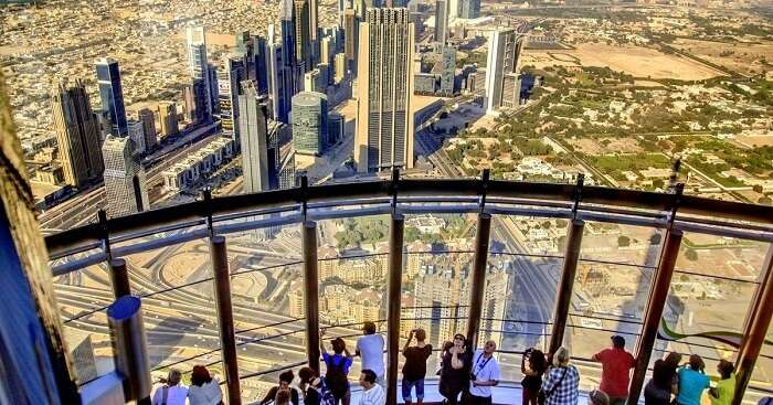 at the top burj dubai