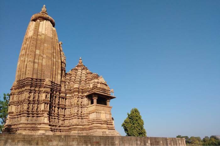 chadel dynasty temples in khajuraho