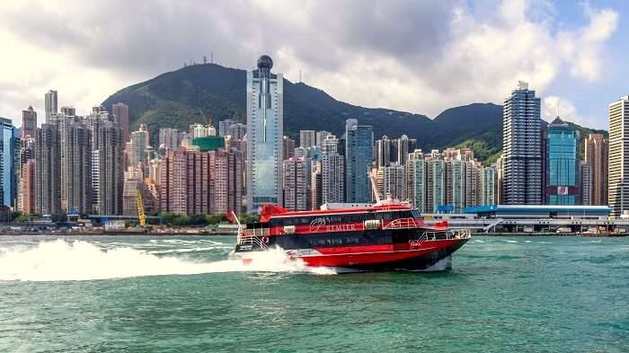 best ferry route hong kong to macau