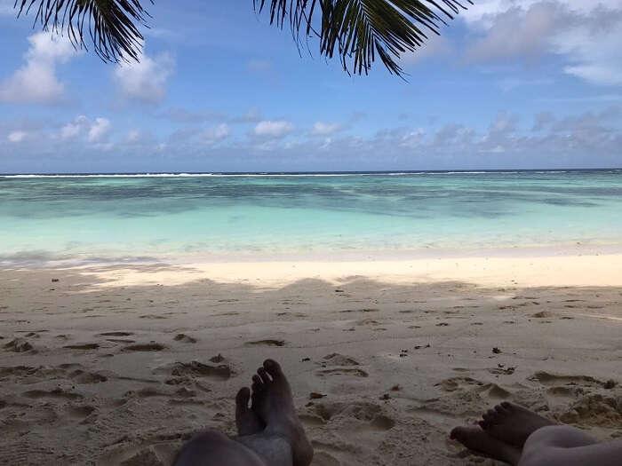 Grand Anse Beach in Seychelles