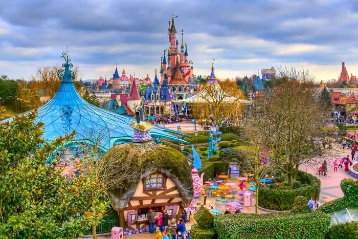 enjoy exciting rides and shows at Disneyland Paris