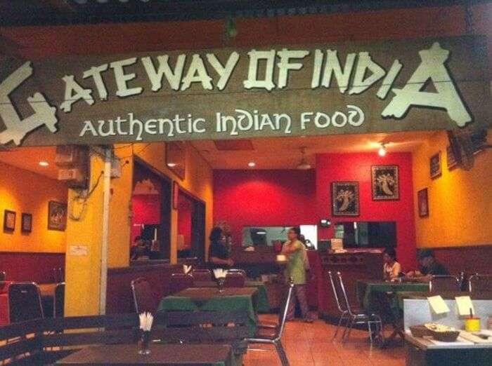 Gateway of India Restaurant in Bali
