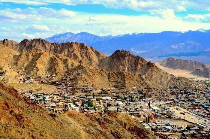 view of leh city