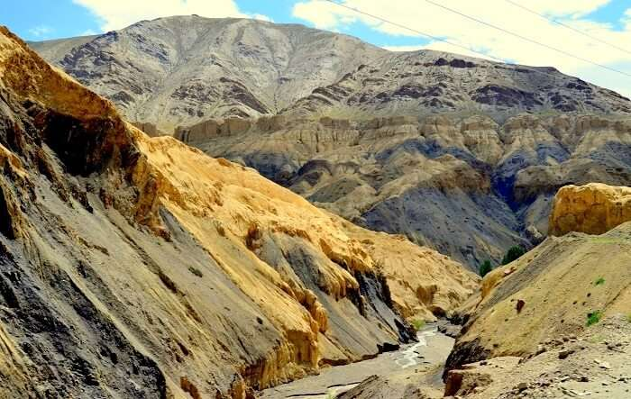 mountain pass near kargil