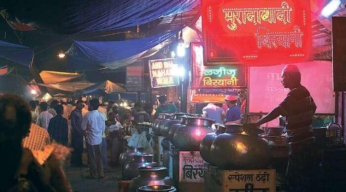 food at nizamuddin
