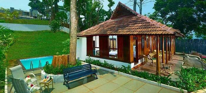luxury cottages in munnar