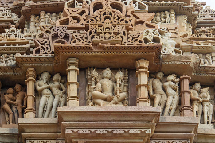 Kamasutra temple in Khajuraho