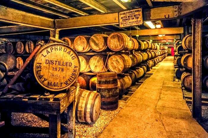 whiskey making in Scotland