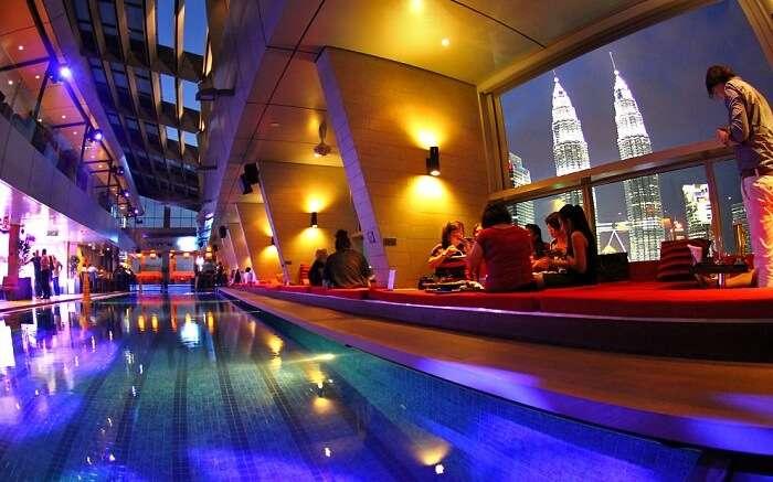 Sky Bar in Kuala Lumpur