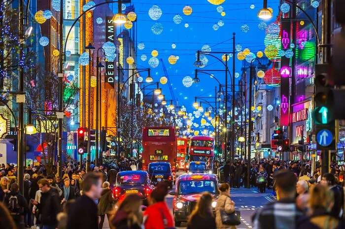 Shopping In London Christmas Markets