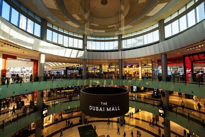 Shopping in Dubai Mall