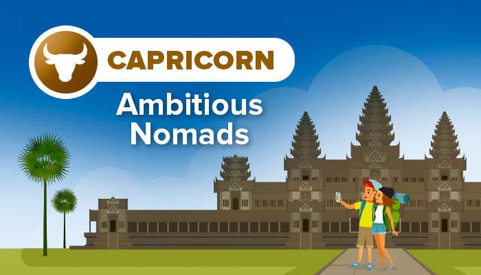CAPRICORN ambitious nomads
