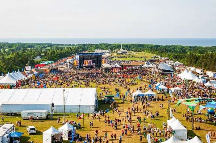 Cavendish Beach Music Festival, Canada