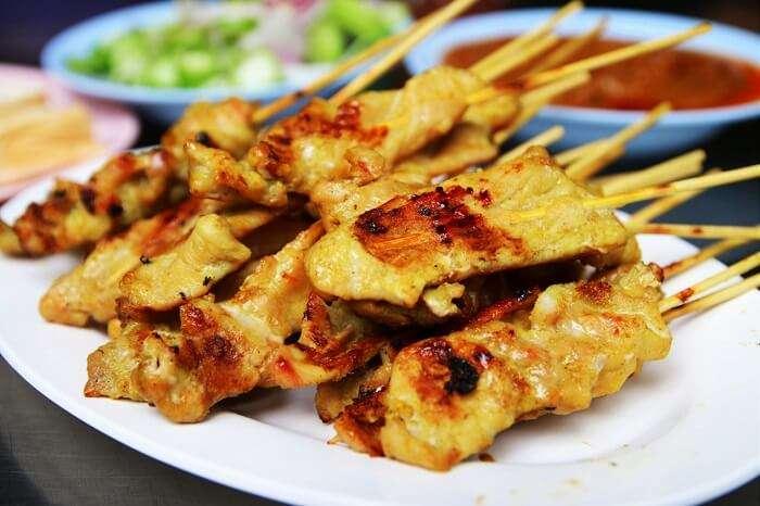 Satay Thai Food