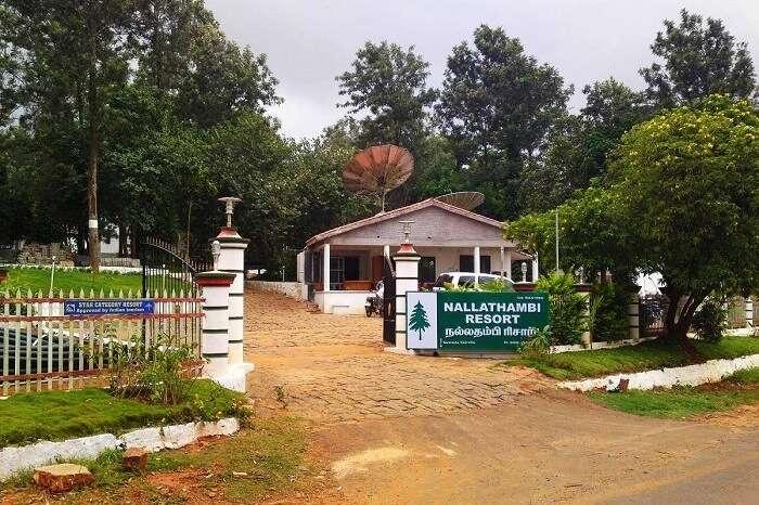 Nallathambi Resort Kolli Hills