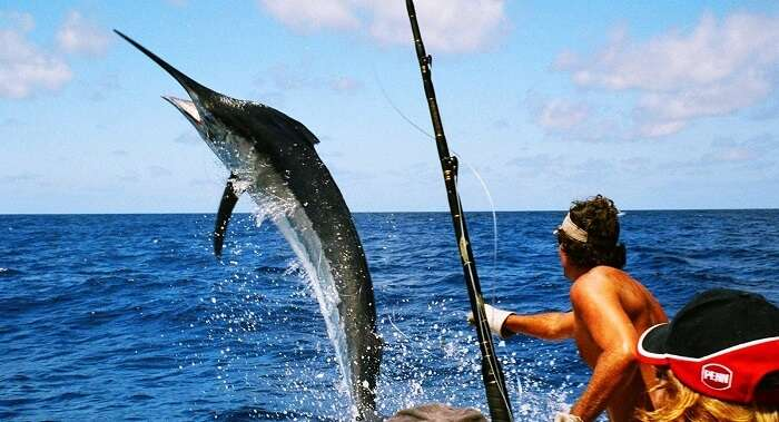 Fishing in Maldives