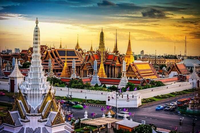 Temples in Bangkok Thailand