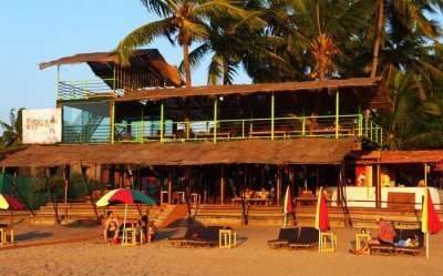Bubble's Beach Shack, Calangute