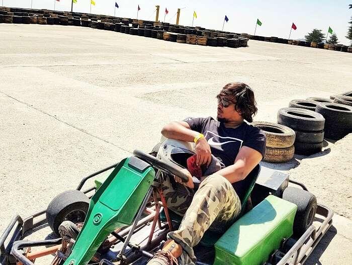 go karting in himachal