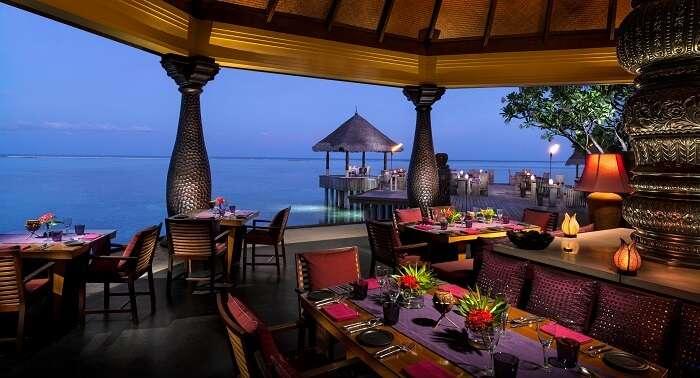 Baraabaru Restaurant Maldives