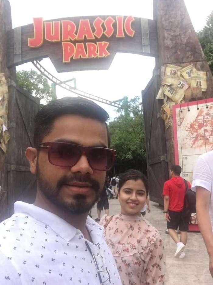 Jurassic park visit