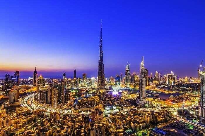 Dubai in winters
