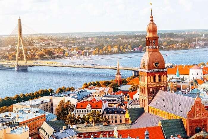 Free wifi in Latvia