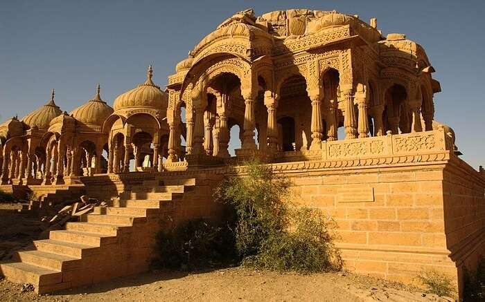A beautiful castle in jaisalmer
