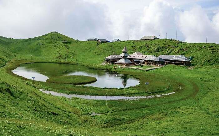 500px Photo ID: 118523791 - A very beautiful place called 'Prashar Lake' is totally worth of 43km uphill ride/trek through forest from Mandi, Himachal Pradesh. Locals mention that the smaller island in middle of lake 'mysteriously' changes its position thr
