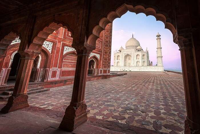visit agra, one of the ebst places to visit near delhi in december