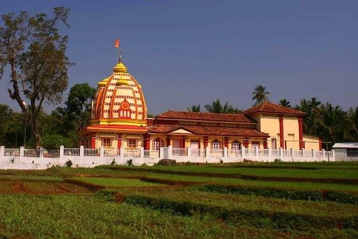 visit Brahma Temple in Goa