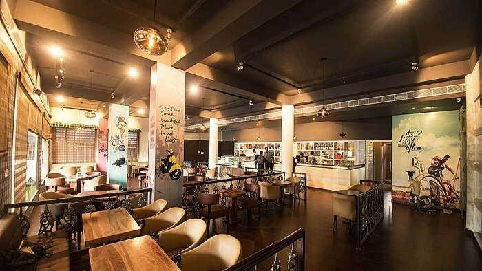 gorge on delectable cuisine at Cafe Lazy Mojo