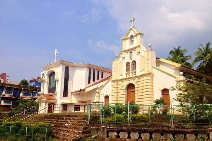 visit Chapel of Saint Sebastian in goa