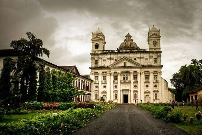 visit Church of St. Cajetan in goa