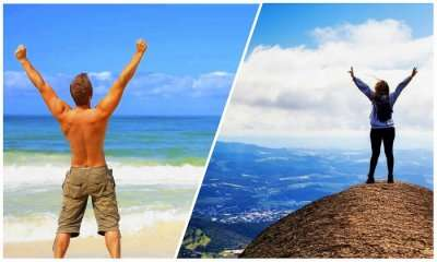 Beach Person Vs Mountain Person