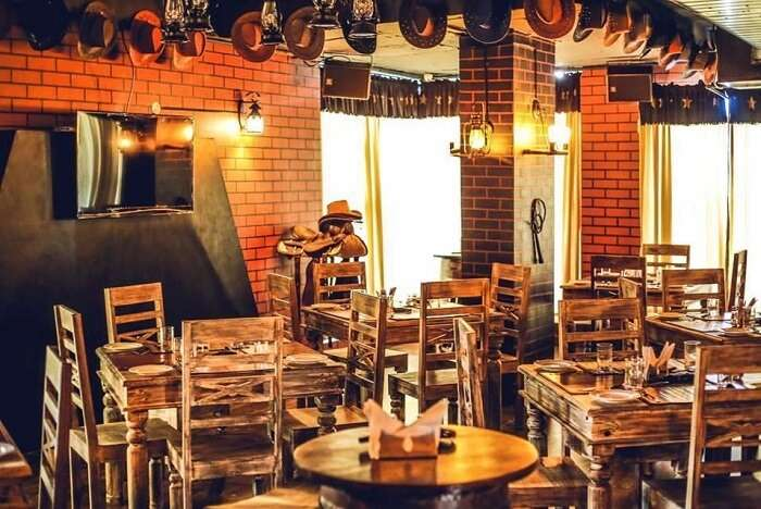 dine at Cowboys and Angels in hyderabad