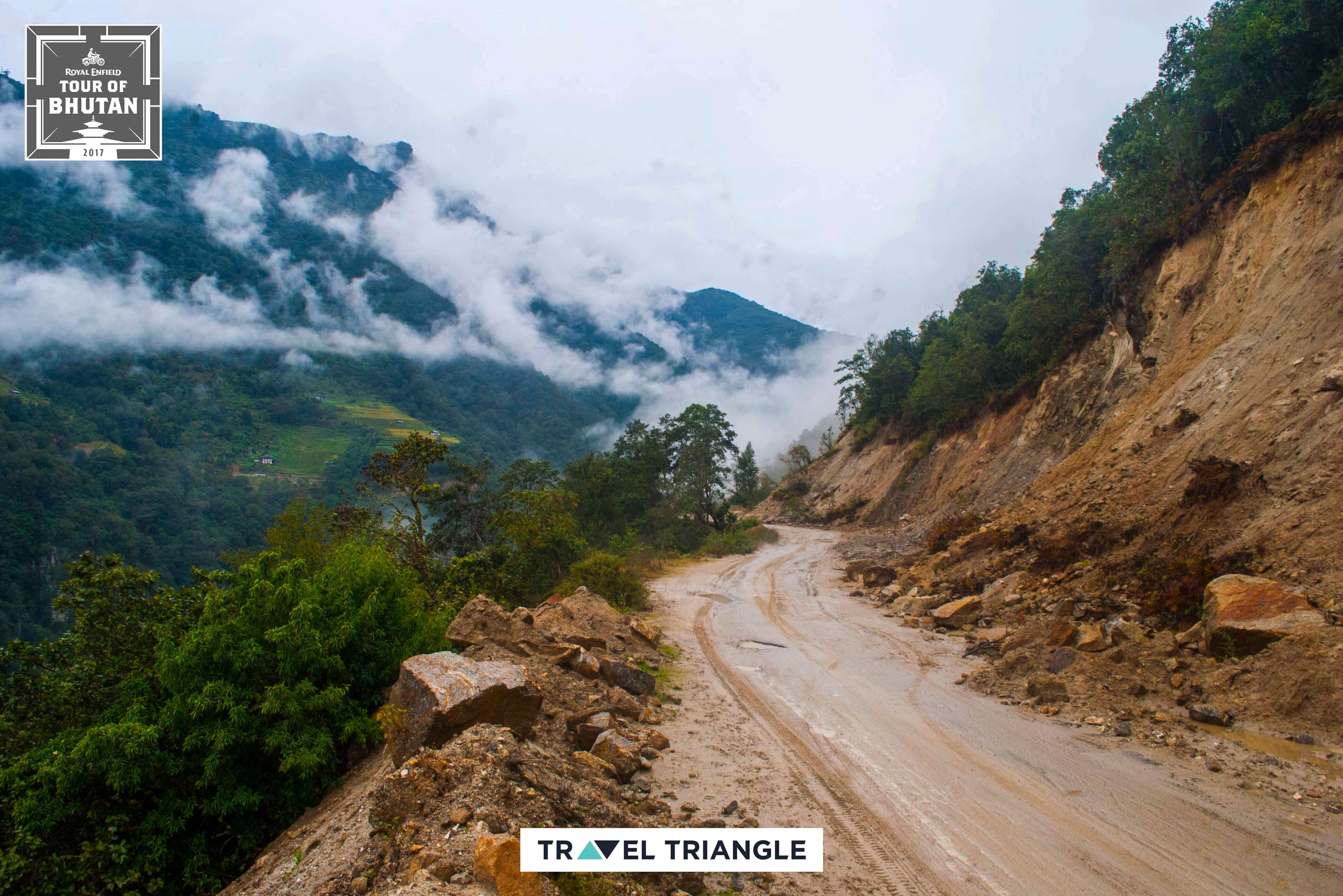 Phobjikha to Bumthang: the roads on the mountains