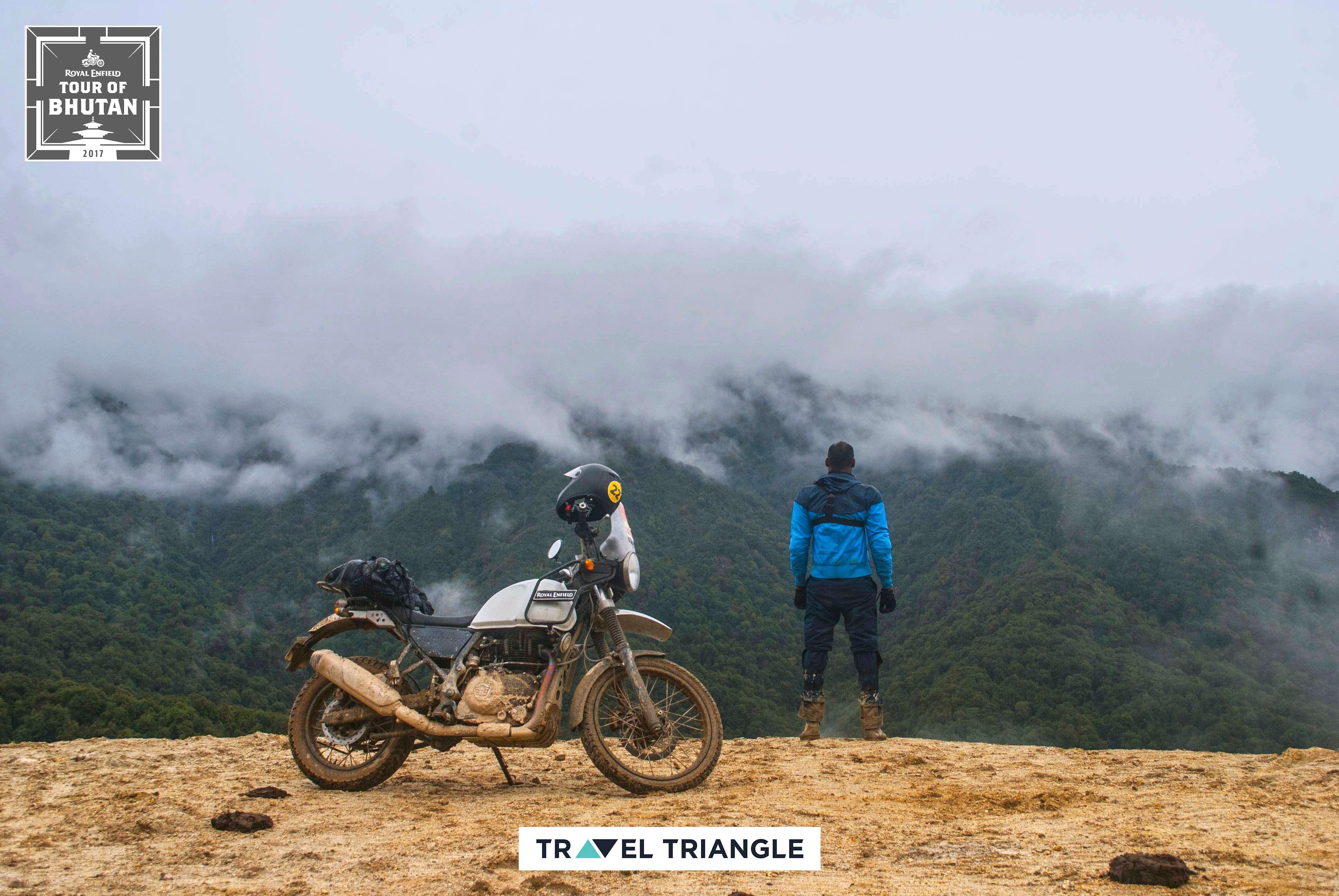 Phobjikha to Bumthang: Siddharth looking at views